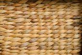 Wicker Basket Texture, Handmade Wicker Work Backround poster