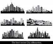 picture of city silhouette  - The best vector City silhouettes - JPG