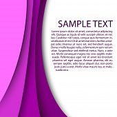 Abstract pink background with custom text copy space
