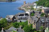 foto of bute  - The beautiful city of Oban in Argyll - JPG