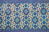 Ancient hand made Turkish - Ottoman tiles
