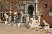 pic of arsenal  - The Porta Magna at the Venetian Arsenal Venice Italy - JPG
