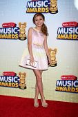 LOS ANGELES - APR 27:  G. Hannelius arrives at the Radio Disney Music Awards 2013 at the Nokia Theat