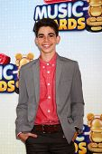 LOS ANGELES - APR 27:  Cameron Boyce arrives at the Radio Disney Music Awards 2013 at the Nokia Thea