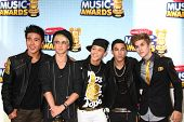 LOS ANGELES - APR 27:  IM5 arrives at the Radio Disney Music Awards 2013 at the Nokia Theater on Apr