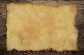 image of treasure map  - Pirates - JPG