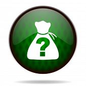 image of riddles  - riddle green internet icon  - JPG