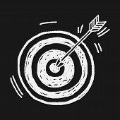 image of archery  - Doodle Archery - JPG