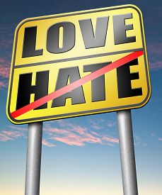 pic of hate  - love hate emotions and connections intense feelings of affection  - JPG