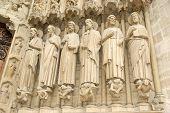 Paris - May 8: Notre Dame De Paris On May 8, 2012 In Paris, France. Notre Dame De Paris, Also Known poster