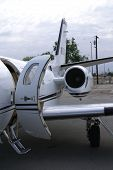 stock photo of cessna  - The Cessna Citation is an example of the modern corporate business jet - JPG