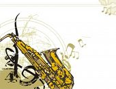 pic of musical instruments  - Musical Background - JPG
