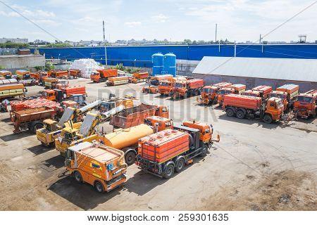 A Lot Of Orange Kamaz