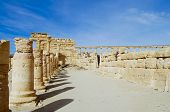 Palmyra Ruins - Syria (before Civil War) poster