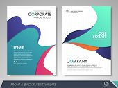 Front And Back Page Modern  Brochure Design, Brochure Template, Brochures, Brochure Layout, Brochure poster