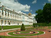 foto of tsarskoe  - Yekaterinksy Palace at Tsarskoe Syolo  - JPG