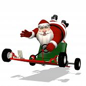 picture of runaway  - Santa Runaway Go Kart - JPG