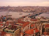 pic of constantinople  - View of the Golden Horn and the ancient city of Istanbul - JPG