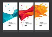 Vector abstract background set EPS 10