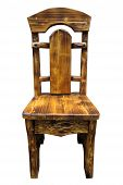 The Classical Cut Out Wooden Chair
