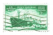 United States Stamp of Merchant Marines