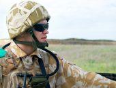 Постер, плакат: Британский солдат