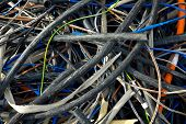 picture of discard  - Discarded cables - JPG