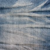 picture of denim jeans  - Blue denim jeans texture background - JPG