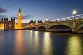 picture of westminster bridge  - London - JPG
