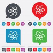 picture of atomizer  - Atom sign icon - JPG