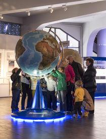 foto of planetarium  - MOSCOW RUSSIA  - JPG