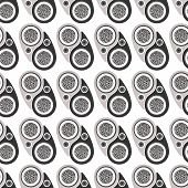 picture of yin  - Abstract seamless pattern - JPG