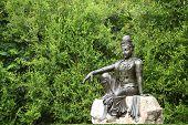 stock photo of goddess  - Female Goddess Chinese Buddha  - JPG