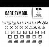 stock photo of caring  - Care icon set - JPG