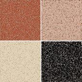 stock photo of granite  - Granite seamless background - JPG