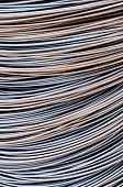 image of reinforcing  - Reinforcing steel bars for building armature background - JPG