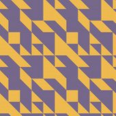 picture of symmetrical  - Seamless symmetrical abstract geometric pattern vector illustration - JPG
