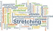 pic of naturel  - Background concept wordcloud illustration of stretching - JPG