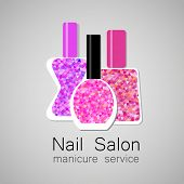 picture of nail-design  - Nail Salon logo - JPG