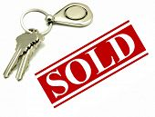 House Keys And Sold Sign