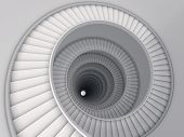 stock photo of spiral staircase  - Spiral stair - JPG