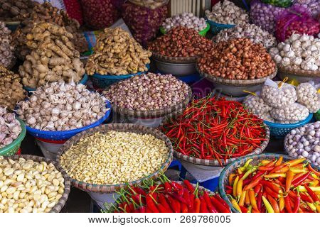 Fruit And Vegetable Market In