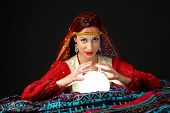 stock photo of fortune-teller  - fortune - JPG