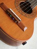 Close-up Of A Brazilian String Musical Instrument: Cavaquinho. It Is Widely Used To Accompany Samba  poster
