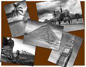 stock photo of damme  - World postcard  - JPG