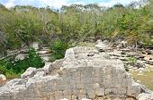 picture of cenote  - Chichen Itza - JPG