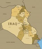 Постер, плакат: Ирак
