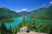 Постер, плакат: The Diablo Lake