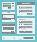 User Interface formulier Set