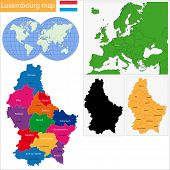 Administrative division of the Grand Duchy of Luxembourg